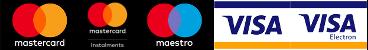 Mastercard, Maestro, Visa elfogadóhely